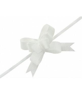 PartyDeco Strikjes wit 3 cm | 25 stuks