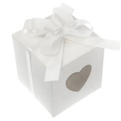 Strikjes wit mini | 50 stuks