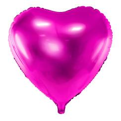 Hartenballon folie | Roze | 45 cm