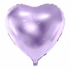Hartenballon folie | Lila | 45 cm