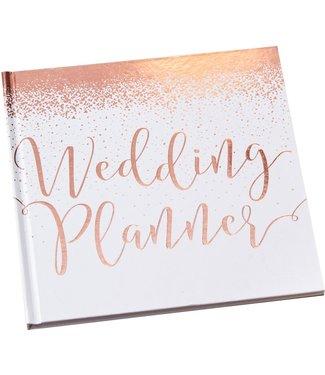 Ginger Ray Weddingplanner boek | Engelstalig | Rosegoud