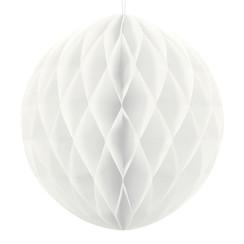 Honeycomb bal | Wit | 20 cm