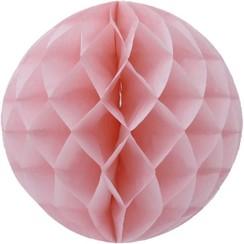 Honeycomb bal | Lichtroze | 30 cm