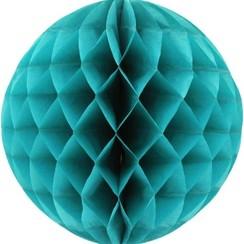 Honeycomb bal | Petrol | 30 cm