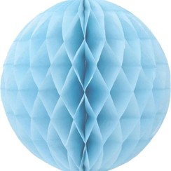 Honeycomb bal | Lichtblauw | 30 cm