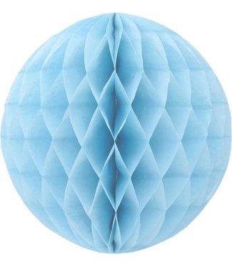 Haza Honeycomb bal | Lichtblauw | 30 cm