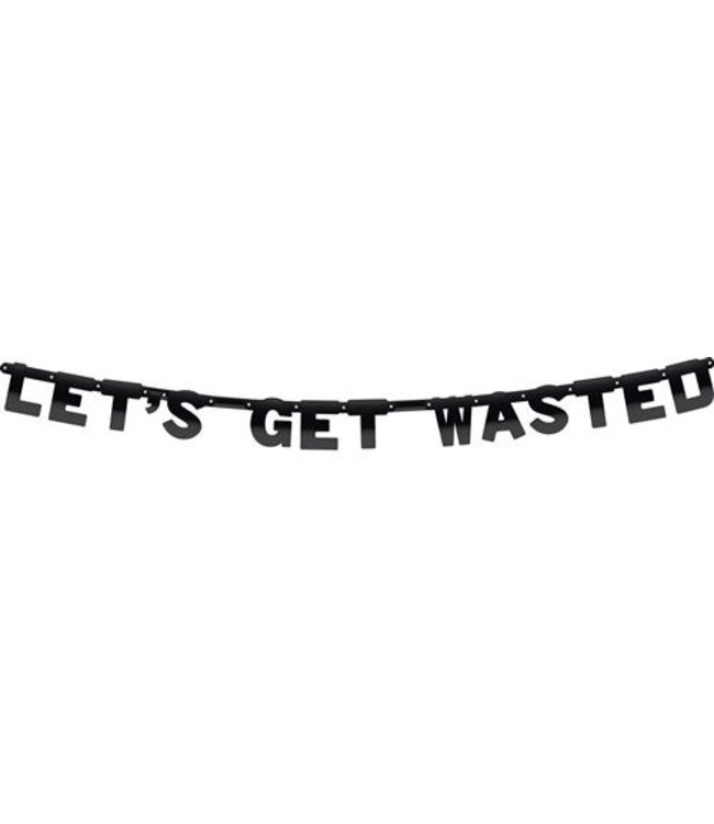 Haza Letterslinger Let's get wasted