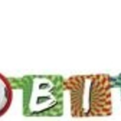 Letterslinger Happy birthday - Voetbal