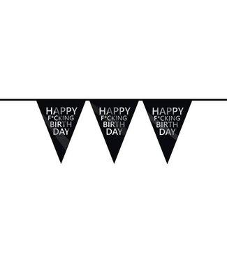 Haza Vlaggenlijn Happy f*cking birthday
