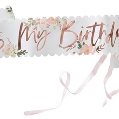 It's my birthday sjerp | Floral