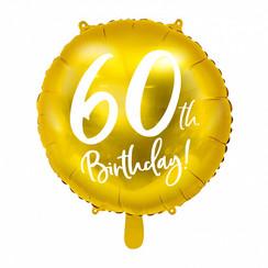 Folieballon 60th birthday | 60 jaar