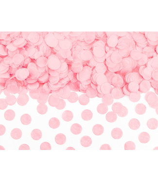 PartyDeco Confetti roze - 15 gram