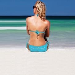 Bikini Just Married - Turquoise