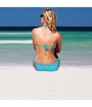 Neviti Bikini Just Married - Turquoise