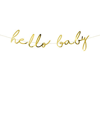 PartyDeco Slinger Hello Baby