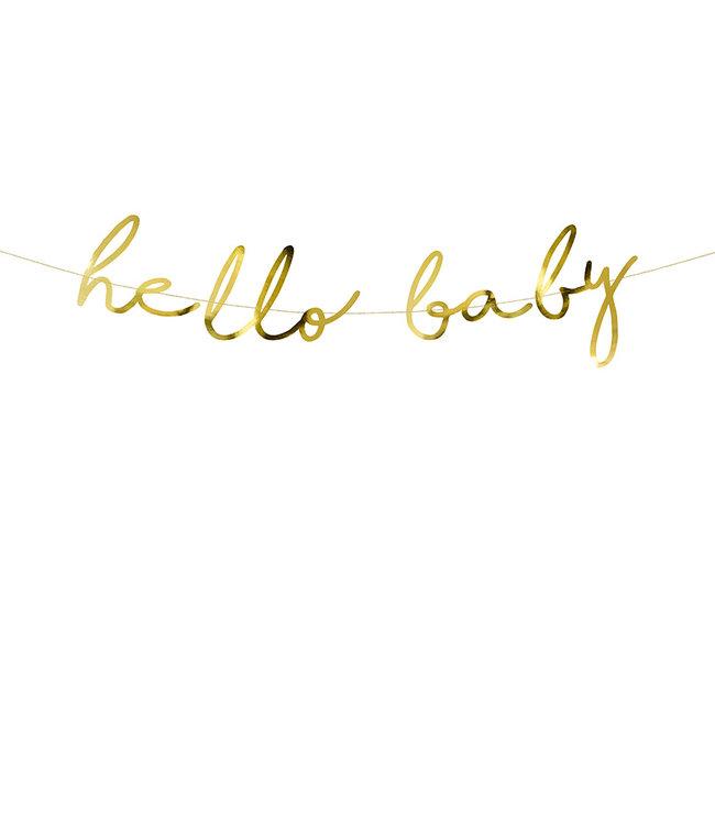 PartyDeco Slinger Hello Baby