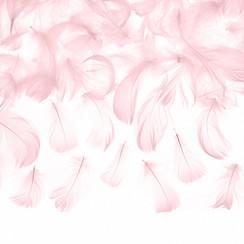 Roze decoratieve veren - 3 gram