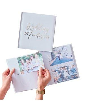 Ginger Ray Fotoalbum - Wedding Memories
