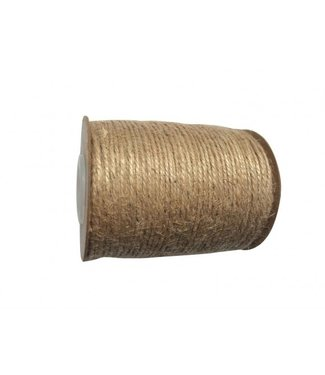 Feestdeco Jute touw | 100 meter | 2 mm breed
