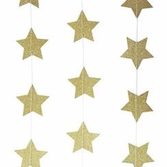 Slinger gouden sterren glitters