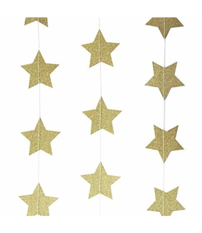Ginger Ray Slinger gouden sterren glitters