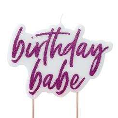 Birthday Babe | Verjaardagskaars