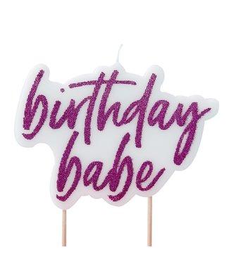 Ginger Ray Birthday Babe | Verjaardagskaars