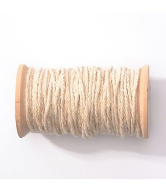 Feestdeco Baker's twine naturel-goud | 20 meter | 2 mm breed