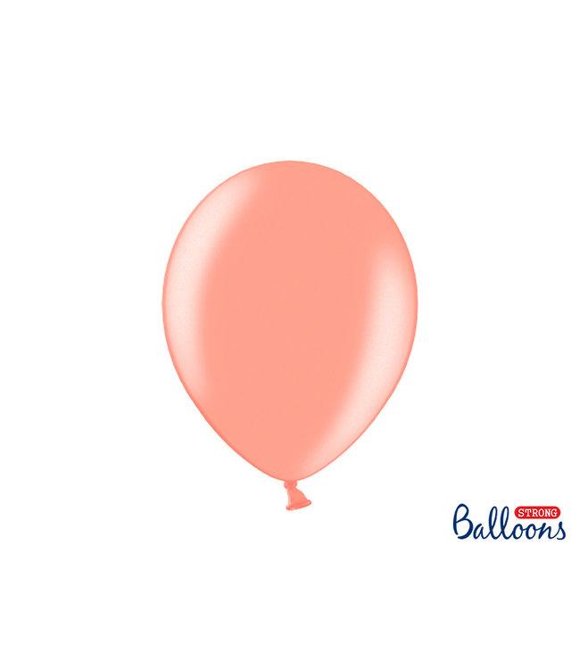 Ballonnendeal Ballonnen Rose Goud Metallic