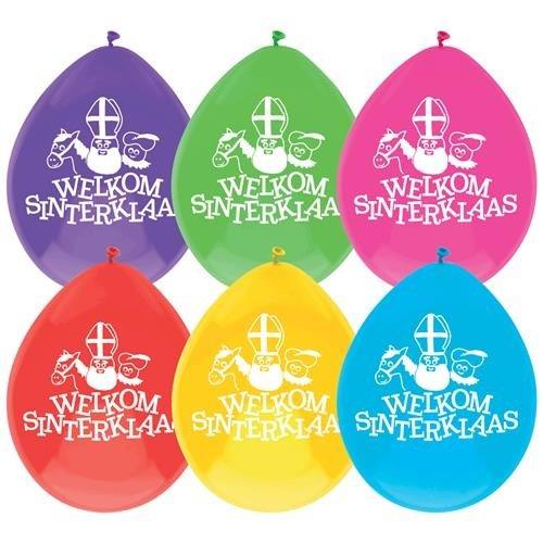 Haza Sinterklaas ballonnen - 10 stuks