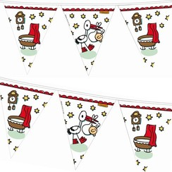 Geboorte - Babyshower vlaggenlijn Babbette