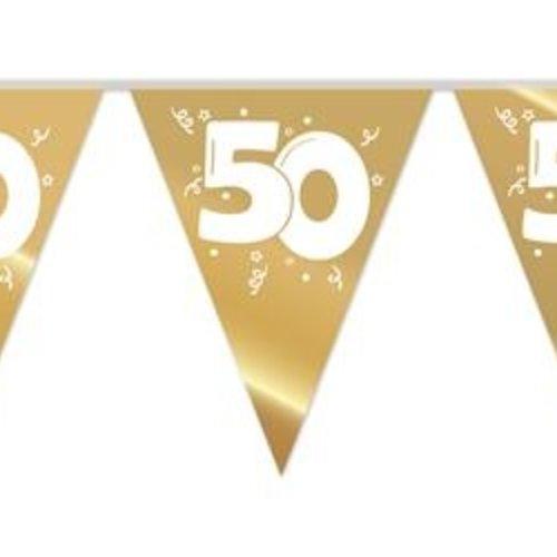 Haza Vlaggenlijn 50 goud - 10 meter