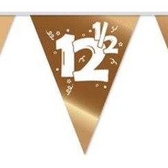 Vlaggenlijn 12,5 brons - 10 meter