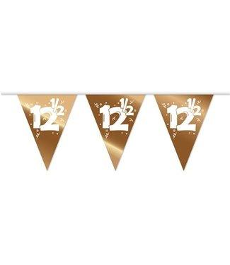 Haza Vlaggenlijn 12,5 brons - 10 meter