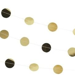 Confettislinger goud - 5 meter