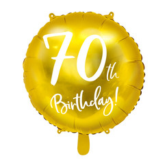 Folieballon 70th birthday | 70 jaar