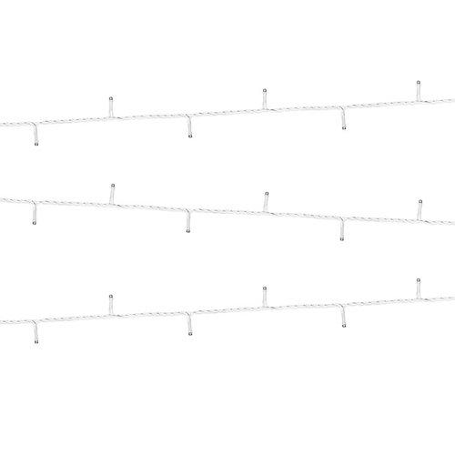PartyDeco LED lichtsnoer  wit - 10 meter