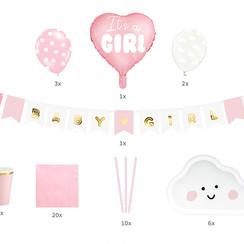 Babyshower/geboorte pakket - It's a girl