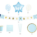 PartyDeco Babyshower pakket - It's a boy - jongen