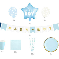 Babyshower/geboorte pakket - It's a boy