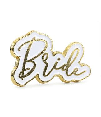 PartyDeco Bride metalen pin broche