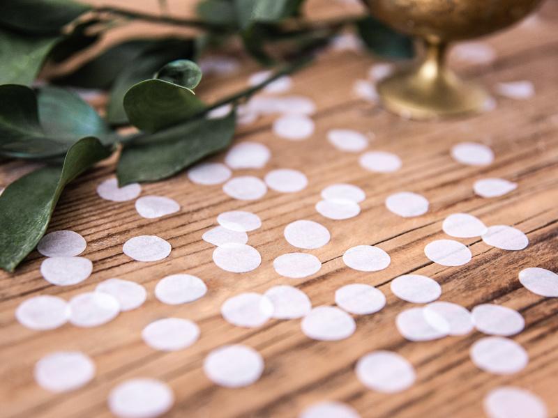 Bellenblaas & confetti