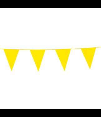 Globos Vlaggenlijn geel - 10 meter