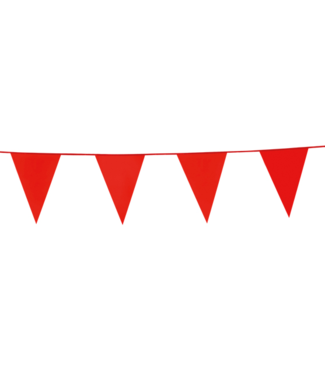 Globos Vlaggenlijn rood - 10 meter