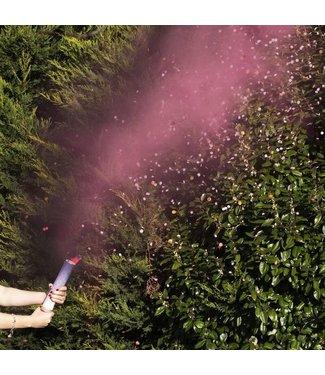 Ginger Ray Confetti en rookkanon roze gender reveal