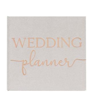 Ginger Ray Weddingplanner boek | Engelstalig | Grijs suede