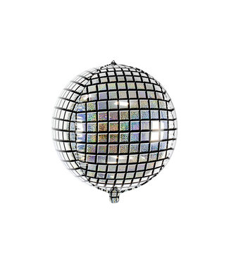 PartyDeco Folieballon Discobal - 40 cm