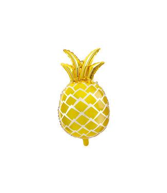 PartyDeco Folieballon Ananas - 63 cm