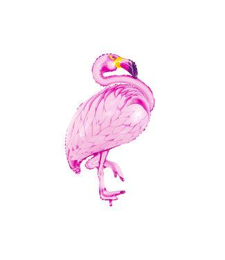 PartyDeco Folieballon Flamingo - 95 cm