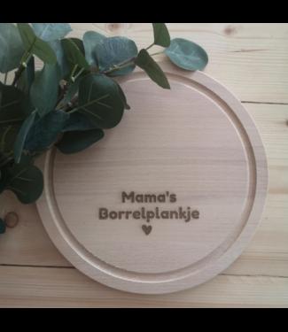 Feestdeco Borrelplank - Mama's borrelplankje